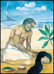 lomi massage ancient hawaiian healing