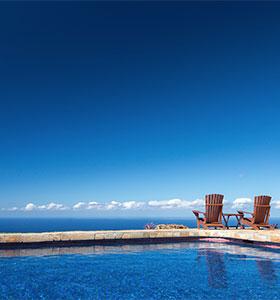 Pool - Big Island Hawaii bed and breakfast