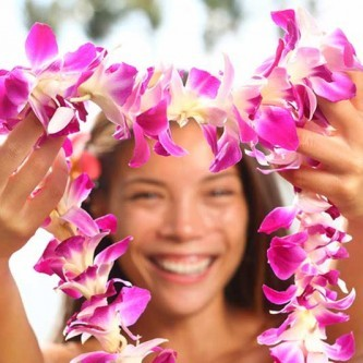 aloha traditional lei