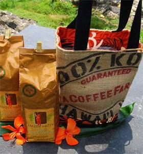 Kona Coffee gift baskets