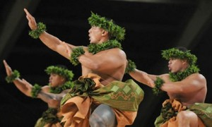 Hula competition on the Big Island