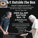 Art Auction at Holualoa Inn