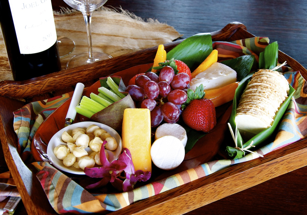 Wine & Cheese Platter