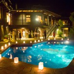 PoolReceptionatNight