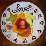 Love FRUIT PLATE