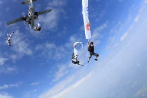 Save for skydiving on your vacation on a budget