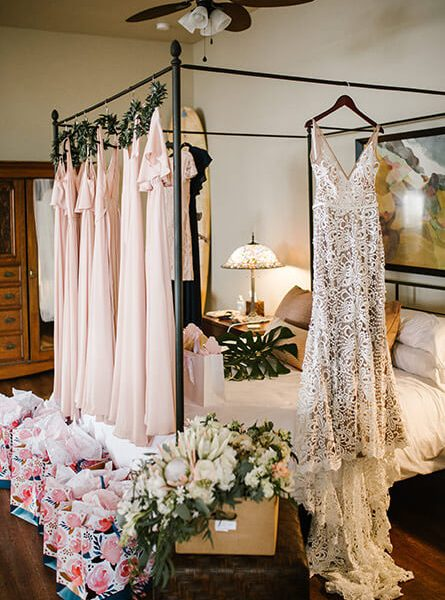 Wedding Dress and Bridesmaid Gowns