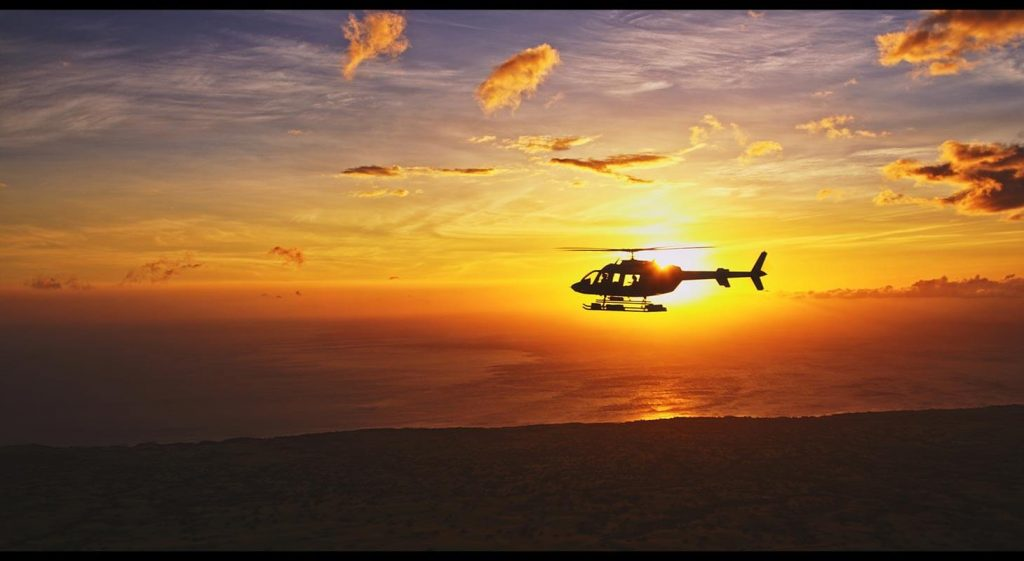 Big Island Sunset Tour with Paradise Helicopters