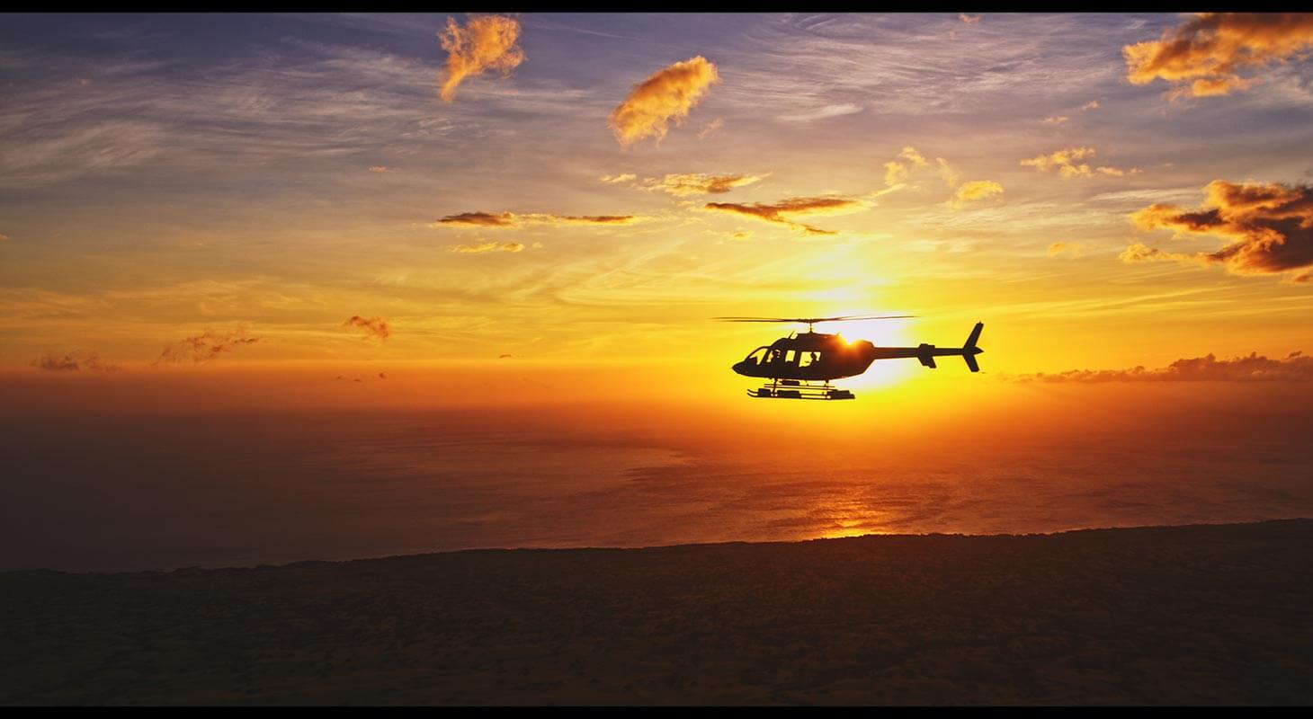 Sunset Tour with Paradise Helicopters