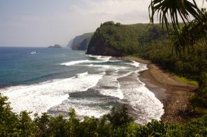 A Big Island beach