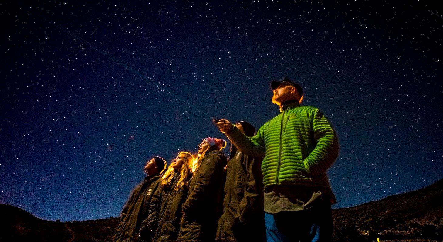 Stars exploration adventure near Kona Hawaii