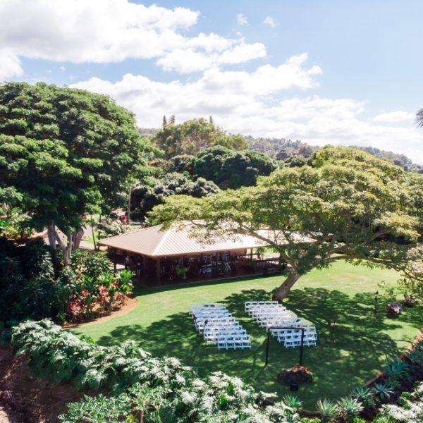 Aerial View of Malulani Pavilion