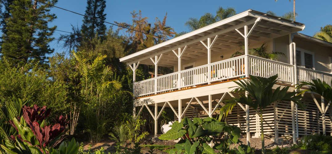 View of Hawaii beach house rental