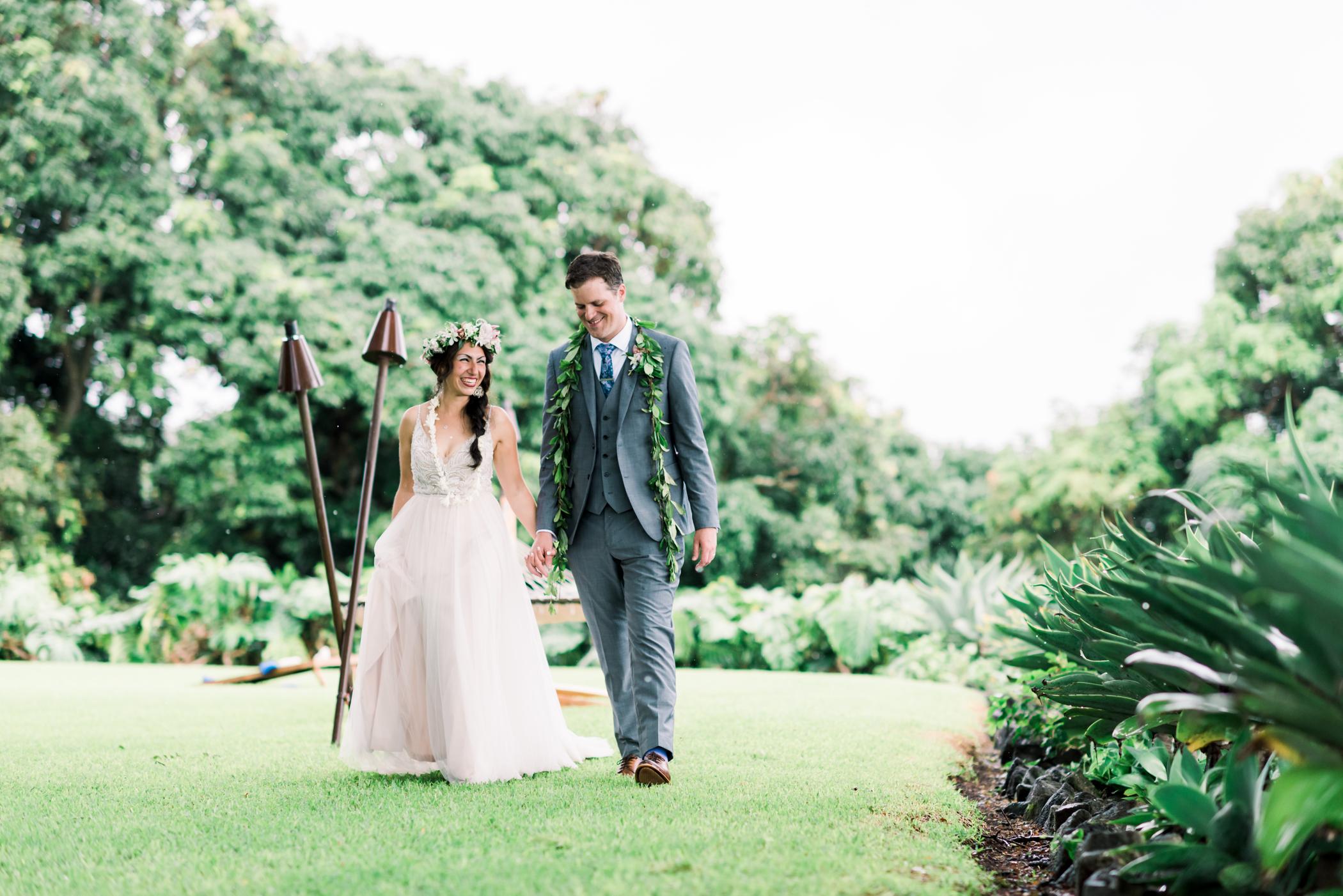 Real wedding on the Big Island