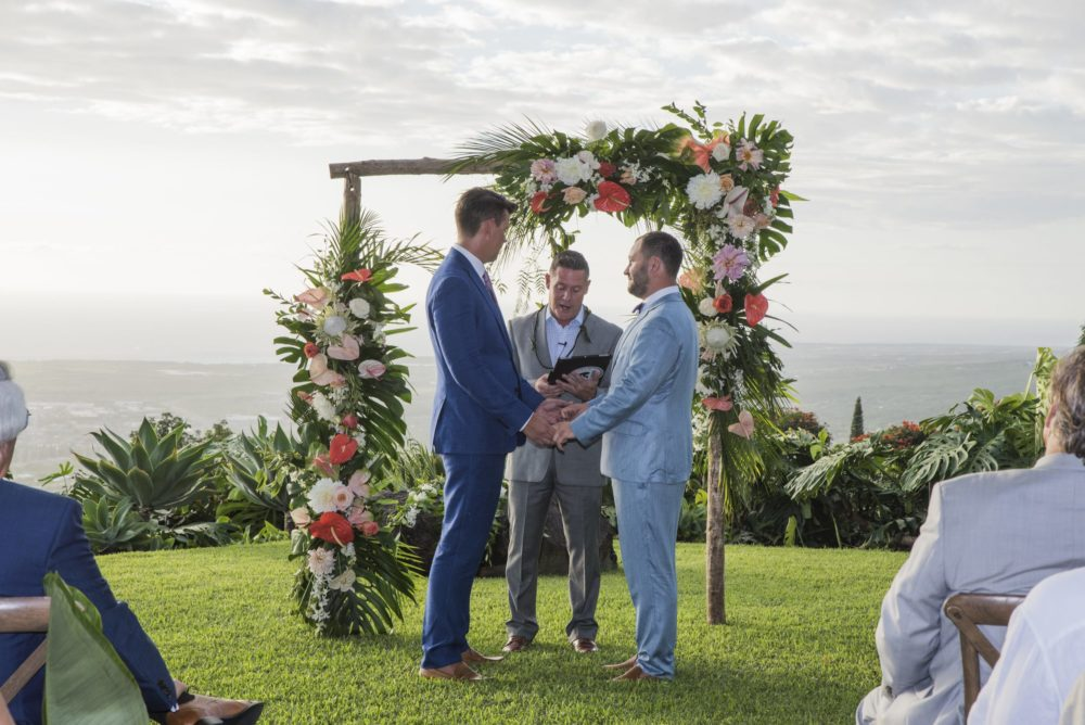 same sex couple married in Hawaii